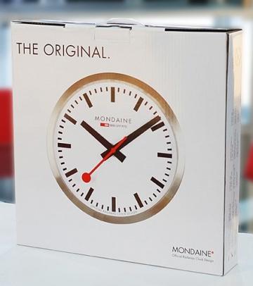Mondaine Wand-Uhr Quarz Analog A990.CLOCK.11SBC - 3