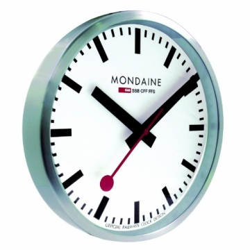 Mondaine Wanduhr Official Railways Clock A990.CLOCK.16SBB - 2