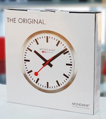 Mondaine Wanduhr Official Railways Clock A990.CLOCK.16SBB - 3