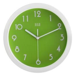 HITO™ modernen bunten Stille Nicht-tickende Wanduhr- 10 Zoll (Apfelgrün) - 1