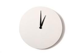 Wanduhr zum Selbstgestalten, Rund 30 cm, inkl. Uhrwerk - 1