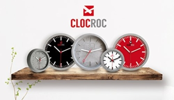 Clocroc - Aviation Big, Wanduhr aus Beton groß - 5
