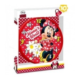 Disney Minnie Maus Wanduhr Kinder Uhr Kinderuhr für Kinderzimmer Dekoration Wanddeko - 1