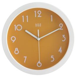 HITO™ modernen bunten Stille Nicht-tickende Wanduhr- 10 Zoll (orange) - 1