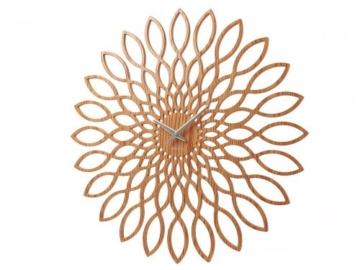 Karlsson Wanduhr Sunflower MDF Oberflche Holz - 1