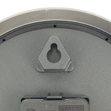 Kela 17159 Wanduhr Ø 20 cm, Batteriebetrieben, Kunststoff, Moskau, Rot - 4