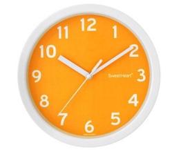 Sweethearts Wanduhr, orange, Stück: 1 - 1