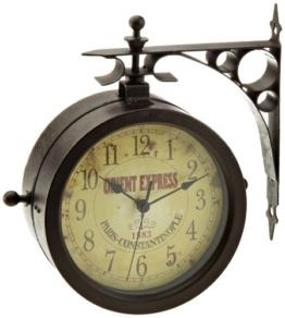 TFA 60.3011 Nostalgie Wanduhr und Thermometer - 1