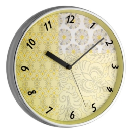 TFA Dostmann 98.1099 Wanduhr Yellow - 1