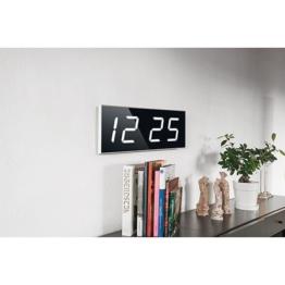 digitale wanduhren g nstig kaufen bei. Black Bedroom Furniture Sets. Home Design Ideas