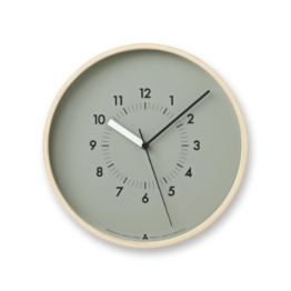 Lemnos AWA13-06 Awa Clock Soso, grau - 1