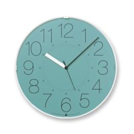 Lemnos AWA13-08 BL Awa Clock Cara, blau - 1