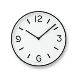 Lemnos LC10-20A Wanduhr Mono Clock, weiß - 1