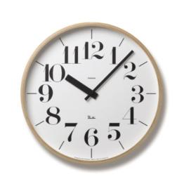 Lemnos WR-0401 L RIKI Clock 30.5cm - 1