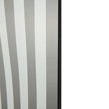 NeXtime Crazy Time Wanduhr, Küchenuhr, Uhr, Bürouhr, Wohnzimmeruhr, Deko, Glas Schwarz Weiß, 43 x 43 cm, 8177 - 4