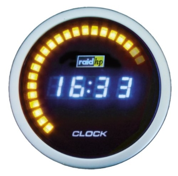 Raid HP 660510 Zusatzinstrument Uhr Serie Night Flight Digital Blue - 1