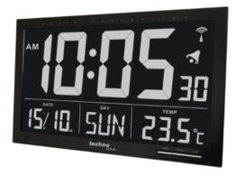 Technoline WS 8007 Digitale Funkuhr mit Jumbo-LCD - 1
