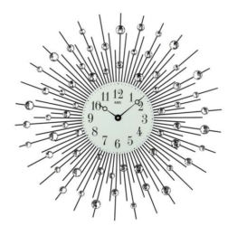Analoge Wanduhr Night XXL 60 cm - 1