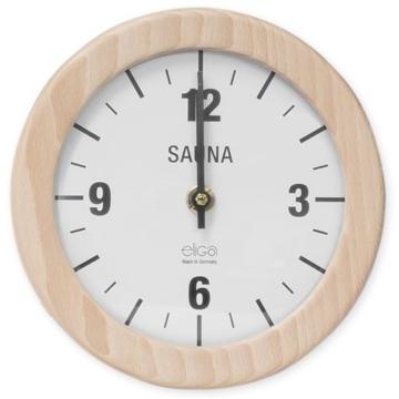 Saunauhr Wanduhr Elektrisch Sauna Uhr Rund 210 Mm