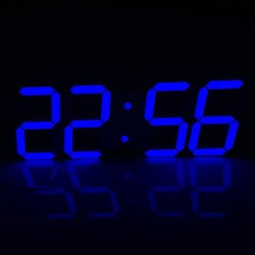 Bestland Große Led Uhr Digitale Wanduhr Fernbedienung Jumbo Großen