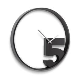Umbra 118998-040 Take 5 Wall Clock, schwarz -