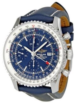 Breitling Herren A2432212/C651Navitimer Welt Blau Zifferblatt Chronograph von Breitling -