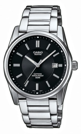 Casio Collection Herren-Armbanduhr Analog Quarz BEM-111D-1AVEF -