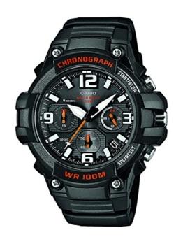 Casio Collection Herren-Armbanduhr XL Collection Analog Quarz Resin MCW-100H-1AVEF -
