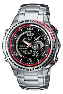Casio Edifice Herren-Armbanduhr Analog / Digital Quarz EFA-121D-1AVEF -