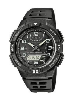 Casio Herren-Armbanduhr Analog - Digital Quarz Resin AQ-S800W-1BVEF -