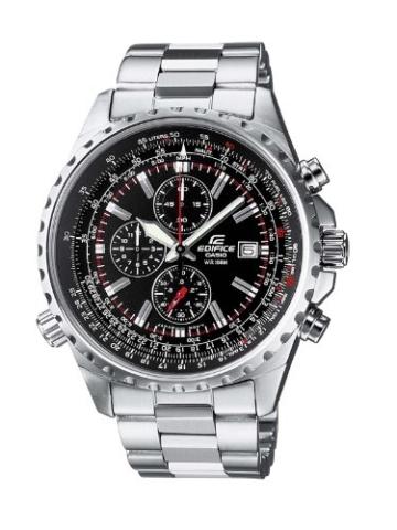 Casio Herren-Armbanduhr Edifice Chronograph Analog Quarz EF-527D-1AVEF -
