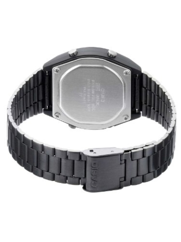 Casio Unisex-Armbanduhr Digital Quarz Edelstahl B640WB-1BEF -