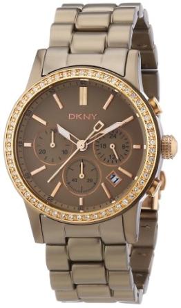 DKNY Damen-Armbanduhr Chronograph Quarz Aluminium NY8324 -