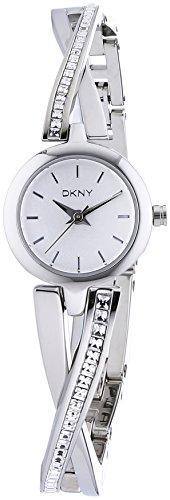 DKNY Damen-Armbanduhr XS Analog Quarz Edelstahl NY2173 -