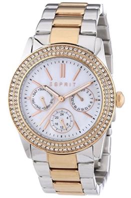 Esprit Damen-Armbanduhr Analog Quarz Edelstahl ES103822016 -