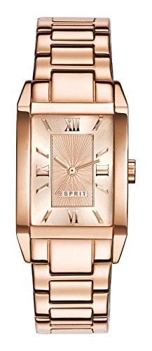 Esprit Damen-Armbanduhr Helena Analog Quarz Edelstahl beschichtet ES000EO2013 -