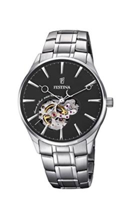 Festina Herren-Armbanduhr Analog Automatik Edelstahl F6847/4 -