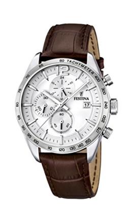 Festina Herren-Armbanduhr Analog Quarz Leder F16760-1 -