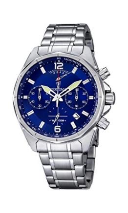 Festina Herren-Armbanduhr Chronograph Quarz Edelstahl F6835/3 -
