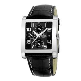 Festina Herren-Armbanduhr Sport Multifunktion Analog Quarz Leder F16235/F -