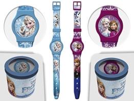 Frozen Kinder Armbanduhr Disney Kids Uhr mit Zeiger 41441 -