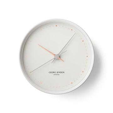 Georg Jensen Henning Koppel Uhr weiß -