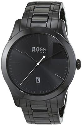 Hugo Boss Herren-Armbanduhr Ambassador Modern Analog Quarz Edelstahl beschichtet 1513223 -