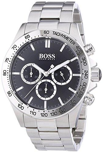 Hugo Boss Herren-Armbanduhr Chronograph Quarz Edelstahl 1512965 -