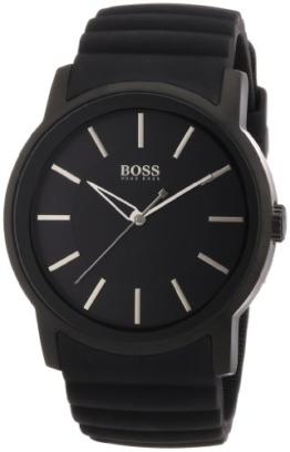 Hugo Boss Herren-Armbanduhr XL Analog Quarz Silikon 1512742 -