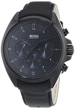 Hugo Boss Herren-Armbanduhr XL Driver Chronograph Quarz Leder 1513061 -