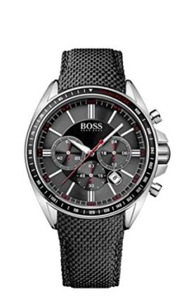 Hugo Boss Herren-Armbanduhr XL Driver Sport Chronograph Quarz Nylon 1513087 -
