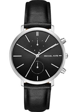 Michael Kors Herren-Armbanduhr Analog Quarz One Size, schwarz, schwarz -