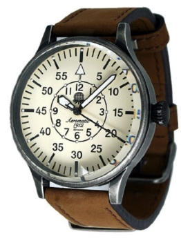 Military Flieger Beobachter Uhr von Aeromatic 1912 - Modell A1152N -
