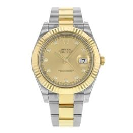 Rolex Datejust II 116333 CHDOHerren-Armbanduhr, Stahl, 18kt Gelbgold, automatisch -